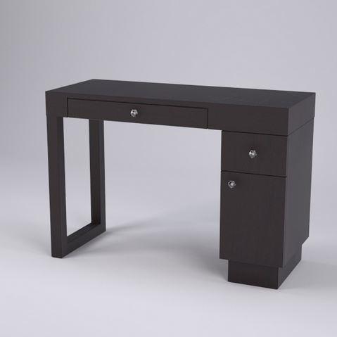 Linea Single Nail Table, 1 Drawer