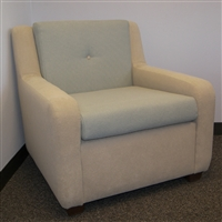 Plush Lounge Chair