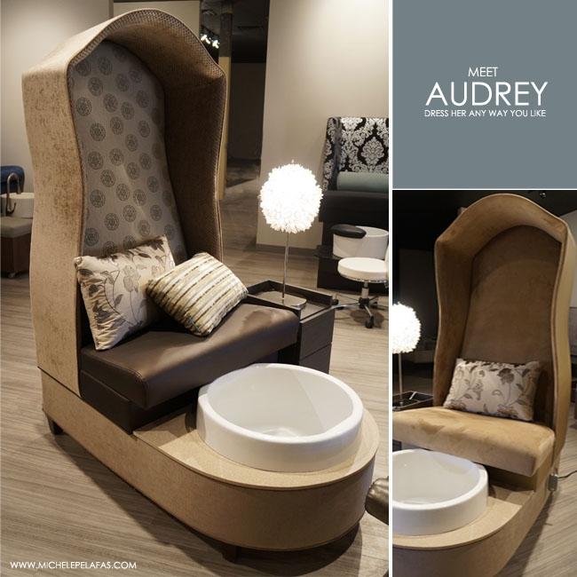 Audrey Pedicure Chair Foot Spa