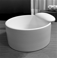 Mode Porcelain Pedicure Sink