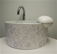 Botanica Pedicure Sink - Mode Motif Collection