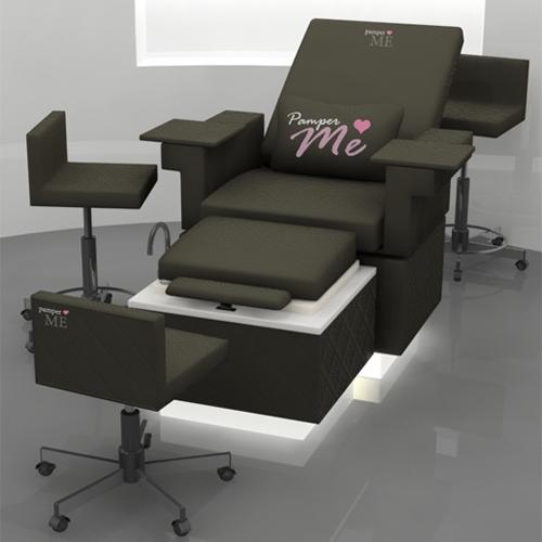 PamperME Pedicure Chair Foot Spa