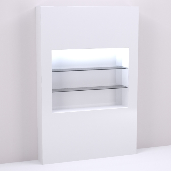 Retail Shelving Amp Wall Display Niche 60 Quot For Salon Amp Spa