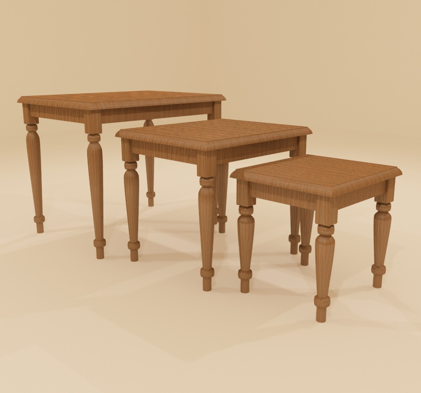 Elise Nesting Tables Set Of 3