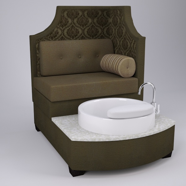 Tiffany Pedicure Chair Foot Spa