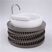 Akari Pedicure Sink Vanity