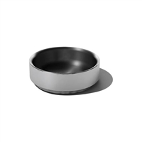 7in Brushed Finish Double Wall Serving Bowl