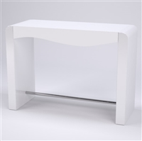 Tulip Nail Table White