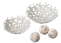 Starfish Bowls with Spheres