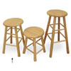 "Virco 12324 - Stool, All Wood 24""  (Virco 12324)"