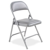 Virco 168 - Premium Steel Folding Chair with Vinyl Upholstered Seat and Back  (Virco 168)