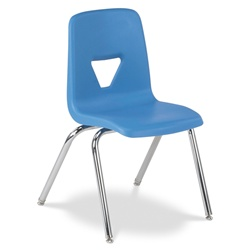 "Virco 2018EL - 2000 Series Stack Chair- Extra Large 18"" Seat Height"