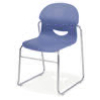 264617 - Virco I.Q. Sled Based Ergonomic Chair, Wide Seat - 17 Seat Height  (Virco 264617)