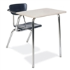 "Virco 3400NBRM - Combo Desk with 18"" Hard Plastic Seat, 18"" x 24"" Hard Plastic Top, no bookrack  (Virco 3400NBRM)"