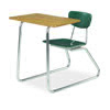 "Virco 3640NBRL - Sled Based Combo Desk with 18"" Hard Plastic Seat, 18"" x 24"" Laminate Top (Virco 3640NBRL)"