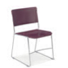 "Virco 4100 - UltraStack Sled Based Chair - 18.25"" Height  (Virco 4100)"