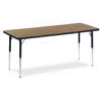 "Virco 482460 - Rectangular 24"" x 60"" Activity Table, 1 1/8 inch Thick Laminate Top  (Virco 482460)"