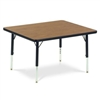 "Virco 484848LO- Square 48"" x 48""Activity Table, 1 1/8 inch Thick Laminate Top, Preschool Height Adjustable Legs  (Virco 484848LO)"
