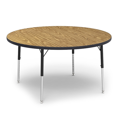 Round Activity Table With Heavy Duty Laminate Top Preschool Height - 17 inch high coffee table