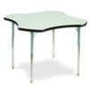 "Virco 48CLO48 - Clover 48"" Activity Table, 1 1/8 inch Thick Laminate Top  (Virco 48CLO48)"