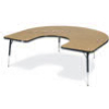 "Virco 48HORSE60 - Horseshoe 60"" x 66"" Activity Table, 1 1/8 inch Thick Laminate Top  (Virco 48HORSE60)"