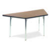 "Virco 48TRAP60 - Trapezoid 30"" x 60"" Activity Table, 1 1/8 inch Thick Laminate Top  (Virco 48TRAP60)"