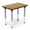 "502436ADJ  - Rectangular 24"" x 36"" Activity Table, 1 1/8 inch Thick  Top (502436ADJ)"