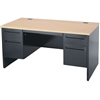 Virco 533060 Desk, Pedestal Desks Series, Double-Pedestal, Box/file  (Virco 533060)