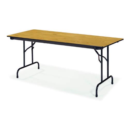 Bon Virco 603096   6000 Series 3/4u0026quot; Thick Particle Board Folding Table  30u0026quot;