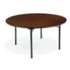 "Virco 6060R - 6000 series 3/4"" particle board folding table 60"" round  (Virco 6060R)"