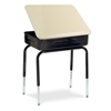"Virco 751MBBM - Student Desk with Lift Lid and Metal Book Box, Hard Plastic 18"" x 24"" Top  (Virco 751MBBM)"
