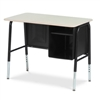 "765MBBM-  Desk, Junior Executive series, student desk, jr. executive, 20"" x 34"" hard plastic top  (Virco 765MBBM)"