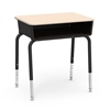 "Virco 785M  - Student Desk with Open Front Book Box, 18"" x 24"" Hard Plastic Top  (Virco 785M)"