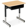 "Virco 871 - Student Desk with Open Front Book Box, 20"" x 26"" Top, Cantilever Legs  (Virco 871)"