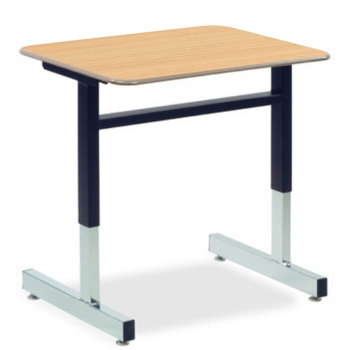 Virco 8771 8700 Series Student Desk With Cantilever Leg
