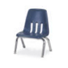 "Virco 9010 - 9000 Series 4-Legged Chair with Steel Back Support - 10"" Seat Height  (Virco 9010)"