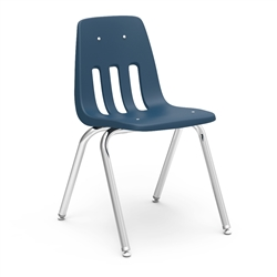 "Virco 9018 - 9000 Series 4-Legged Chair with Steel Back Support - 18"" Seat Height  (Virco 9018)"