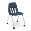 "Virco 9050P - 9000 Series Mobile Task Chair with Wheels, Padded/Upholstered Seat - 18"" Seat Height  (Virco 9050P)"