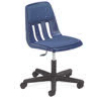 Virco 9260PGC - 9000 Series Mobile Task Chair with Wheels, Padded/Upholstered Seat - Adjustable Seat Height  (Virco 9260PGC)