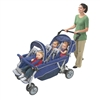 Angeles SureStop Folding Commercial Bye-Bye Stroller 6 Passenger  (Angeles AGL-AFB6700)