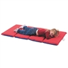 "Children's Factory 2"" Infection Control Folding Mat - Red/Blue 4 Sections"