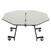 "AmTab Mobile Shape Table - Octagon - 60"" Octagonal Diameter (AmTab AMT-MOC60)"
