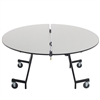 "AmTab Mobile Shape Tables - Oval - 72"" Oval Diameter x 29""H (AmTab AMT-MOV72)"