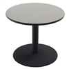 "AmTab Café Table - Round - Cast Iron Pedestal Base - 48"" Diameter x 30""H (AmTab AMT-PTR4830)"