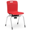 "Virco ANC2M18EL - Analogy Series C2M 4-Leg Chair with Extra Large Bucket - 18"" Height (Virco ANC2M18EL)"