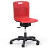 "Virco ANR2MTASK18EL - Analogy Series 18"" R2M Mobile Task Chair w/ Extra-Large Bucket - 24-1/8""W x 24-1/8""D (Virco ANR2MTASK18EL)"