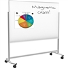 Balt Visionary Move Mobile Magnetic Glassboard - 4'H x 6'W (Balt BES-74951)