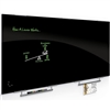 Balt 6'W X 4'H - Visionary Magnetic Glass Dry Erase Whiteboard with Exo Tray System - Black (Balt BES-84064-2X576)