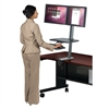 Balt Desk Mounted Sit/Stand Workstation - Dual Monitor (Balt BES-90531)