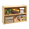Children's Factory Value Line Narrow 2-Shelf Storage (CHI-ANG7147)